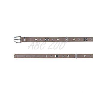 Kožený obojok Active Soft pre psa M, tmavošedý - 1,8 x 36-43cm