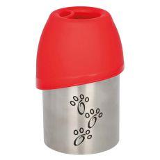 Cestovná fľaša s miskou pre psov, 300 ml