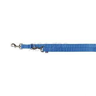 Vodítko pre psa modré, nastaviteľné M/L - 2m
