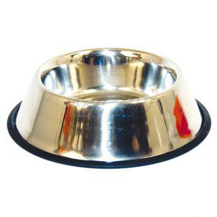 Miska pre psy - nerezová, protišmyková - 0,3l/11cm