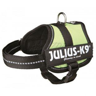 Silový postroj pre psy Julius K9 - zelený, XS-S/33-45cm
