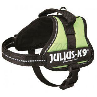 Silový postroj pre psy Julius K9 - zelený, M/51-67cm