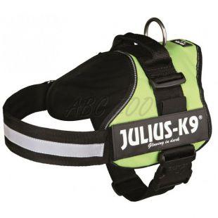 Silový postroj pre psy Julius K9 - zelený, M-L/66-85cm