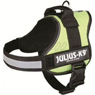 Silový postroj pre psy Julius K9 - zelený, L-XL/71-96cm