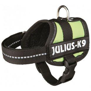 Silový postroj pre psy Julius K9 - zelený, XS-S/29-36cm