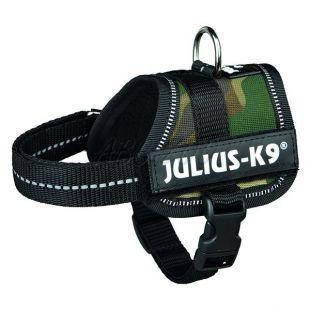 Silový postroj pre psy Julius K9 - maskáčový, XS-S/29-36cm