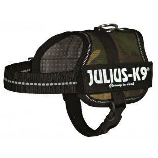 Silový postroj pre psy Julius K9 - maskáčový, XS-S/33-45cm