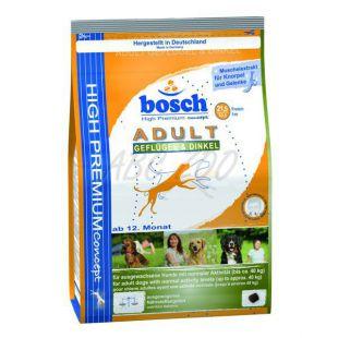 Bosch ADULT hydina + špalda 1kg