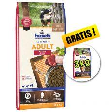 Bosch ADULT Lamb & Rice 15 kg + 3 kg ZADARMO