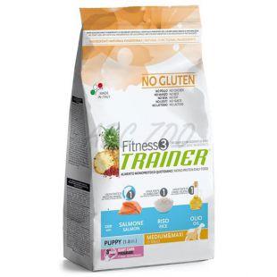 Trainer Fitness3 Puppy & Junior MEDIUM MAXI - fish and rice 12,5kg