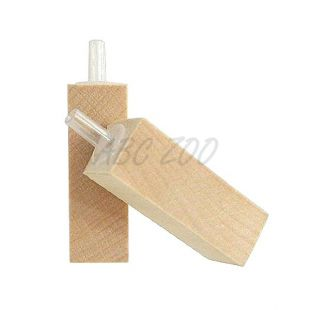 Vzduchovací kamienok - drevený, 45 x 15 x 15 mm