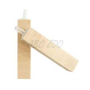 Vzduchovací kamienok - drevený, 75 x 15 x 15 mm