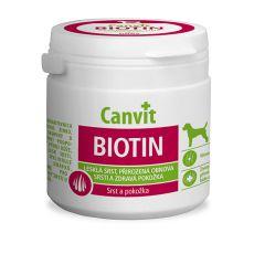 Canvit Biotin - prípravok na zdravú a lesklú srsť 100 tbl. / 100 g