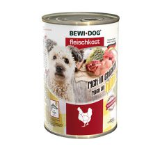 New BEWI DOG konzerva – Chicken, 400g