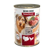 New BEWI DOG konzerva – Hydina, 400g
