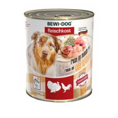 New BEWI DOG konzerva – Hydina, 800g