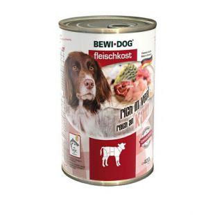 New BEWI DOG konzerva – Teľacie, 400g