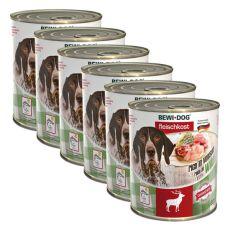 New BEWI DOG konzerva – Wild - 6 x 800g, 5+1 GRATIS