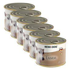 BEWI DOG Paté - Jahňa - 6 x 200g, 5+1 GRATIS