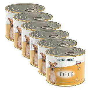 Bewi dog Paté – Morka - 6 x 200g, 5+1 GRATIS