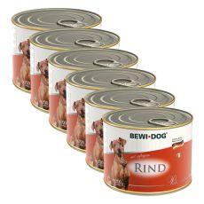 Bewi dog Paté – Rind - 6 x 200g, 5+1 GRATIS
