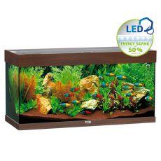 Akvárium JUWEL Rio LED 180 - tmavo hnedé