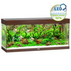 Akvárium JUWEL Rio LED 240 - tmavo hnedé