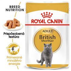 Royal Canin British Shorthair kapsička pre britské krátkosrsté mačky v šťave, 85 g
