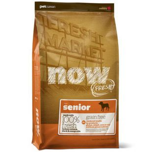 Petcurean NOW FRESH Grain Free SENIOR - 2,72kg