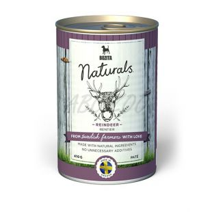 Bozita Naturals Reindeer - konzerva, 410g