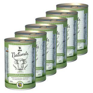 Bozita Naturals Beef - konzerva, 6 x 410g