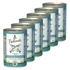 Bozita Naturals Mackerel - konzerva, 6 x 410g