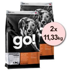Petcurean GO! Sensitivity + Shine - 2 x 11,33kg