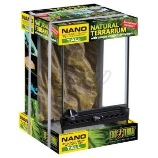 Exo Terra Nano Tall terárium 20 x 20 x 30cm