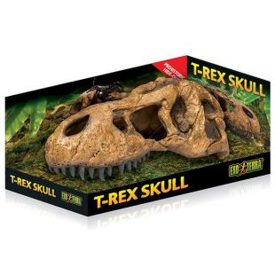 Exo Terra T-Rex lebka - ozdoba do terária 22 x 9 cm