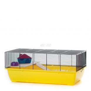 Klietka pre škrečky a myši CHARLIE MOUSE COLOR