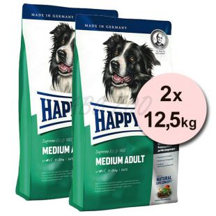 Happy Dog Supreme Fit and Well Adult Medium 2 x 12,5kg
