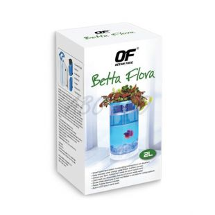 Akvárium OF - Betta Flora 2L - biele