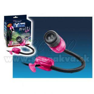 Hydor MULTI-LIGHT, LED biele svetlo - ružový kryt