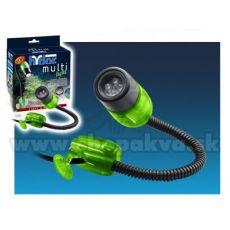 Hydor MULTI-LIGHT, LED biele svetlo - zelený kryt