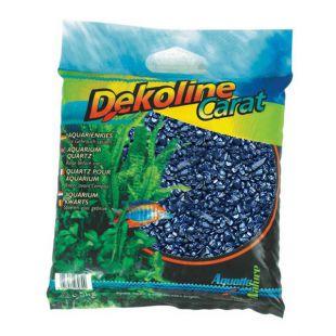 Akvarijný štrk Dekoline Carat Metallic Blue - 5kg