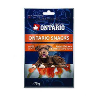 Dentálna tyčinka ONTARIO Snack Chicken dental stick 70g