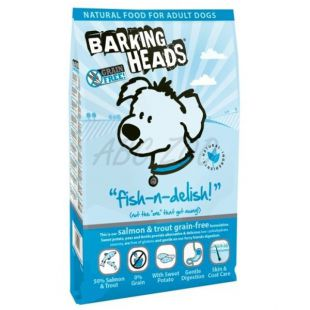 Barking Heads Fish-n-Delish Grain Free 12kg