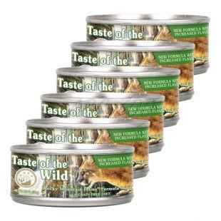 TASTE OF THE WILD Rocky Mountain Feline - konzerva, 6 x 155g