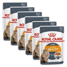 Royal Canin Intense Beauty Jelly kapsička pre mačky v želé 6 x 85g - želé