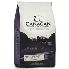 CANAGAN LIGHT/SENIOR DOG Free-Run Chicken – 6kg