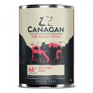Konzerva CANAGAN British Beef, 395g