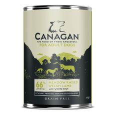Konzerva CANAGAN Meadow Raised Welsh Lamb, 395g