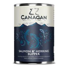 Konzerva CANAGAN Salmon & Herring Supper, 400g