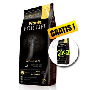 Fitmin FOR LIFE Adult Mini 15+2 kg ZDARMA